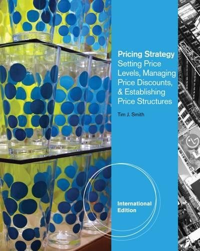 Pricing Strategy - Setting Price