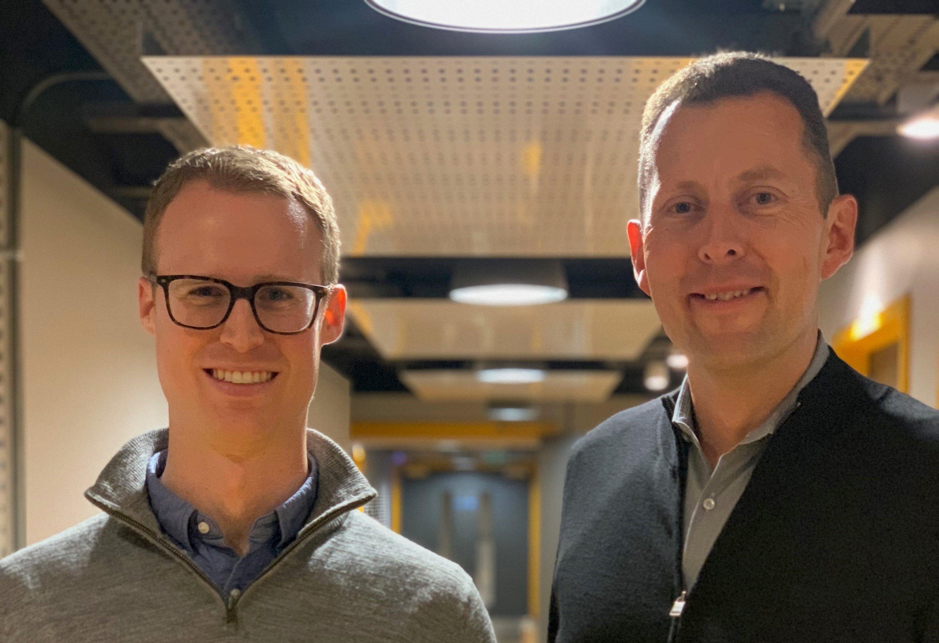 Philip Huthwaite and Martin Fincham